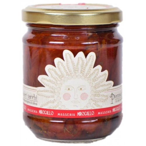 TOMATES SECHEES A L'HUILE D'OLIVE